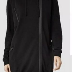 ALL SAINTS Ridley Hoody Black Size US 6